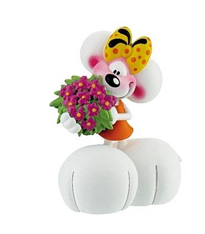 Diddlina mit Blume, Spielfigur