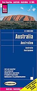 Reise Know-How Landkarte Australien 1 : 4.000.000