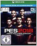 PES 2018, Pro Evolution Soccer, XBox One-Blu-ray Disc (Legendary Edition)
