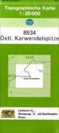 TK25 8534 Östl.Karwendelspitze: Topographisch ...