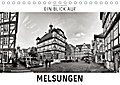 9783665915780 - Markus W. Lambrecht: Ein Blick auf Melsungen (Tischkalender 2018 DIN A5 quer) - Ein ungewohnter Blick in harten Schwarz-Weiß-Bildern auf Melsungen (Monatskalender, 14 Seiten ) - Livre
