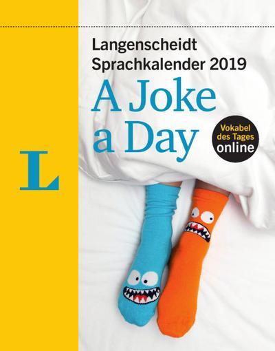 Langenscheidt Sprachkalender 2019 A Joke a Day - Abreißkalender