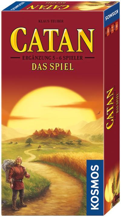 Kosmos - Catan - Ergänzung für 5-6 Spieler, neue Edition, Strategiespiel - Kosmos - Spielzeug, Deutsch, Klaus Teuber, ,
