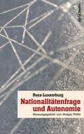 Nationaliätenfrage und Autonomie