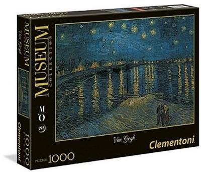 Clementoni 39344.2 Puzzle - Clementoni - Spielzeug, Deutsch, Vincent van Gogh, Musee D'Orsay, Musee D'Orsay