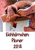 9783665615970 - Carsten Jäger: Eichhörnchen Planer 2018 (Wandkalender 2018 DIN A2 hoch) - Eichhörnchenbilder mit Planer-Kalendarium (Planer, 14 Seiten ) - کتاب