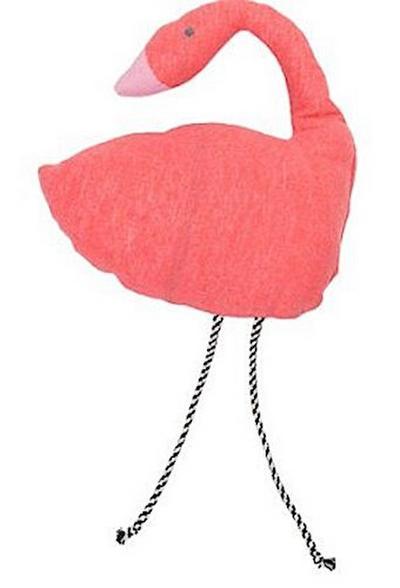 David Fussenegger - Kissen - Kinderkissen - Flamingo - (inkl. Füllung) - rot - 28 x 28 cm - David Fussenegger - , Deutsch, , ,
