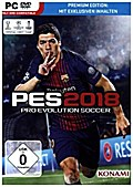 PES 2018, Pro Evolution Soccer, DVD-ROM (Premium Edition)