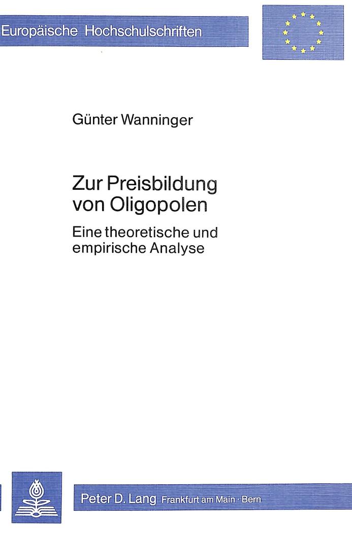 Zur-Preisbildung-von-Oligopolen-Guenter-Wanninger