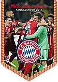 FC Bayern München Mini-Bannerkalender 2018