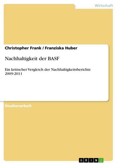 Nachhaltigkeit der BASF