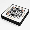QR Code-Postkartenset & Memo-Spiel: Scan in & ...