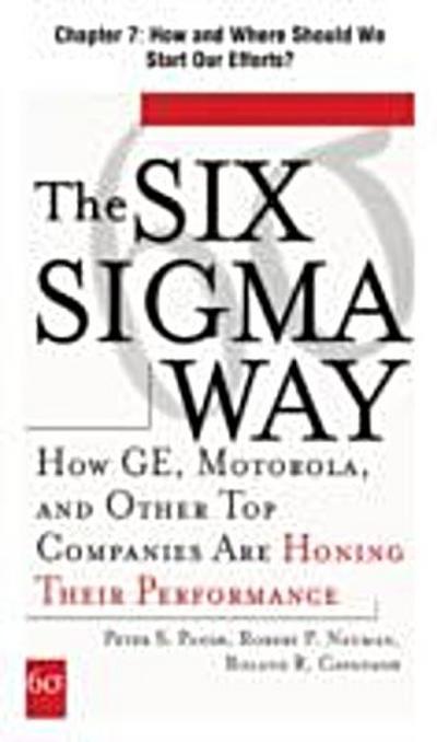 Six Sigma Way, Chapter 7