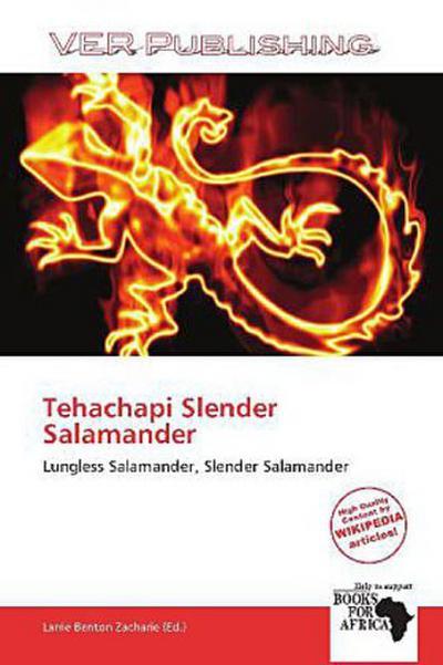 TEHACHAPI SLENDER SALAMANDER