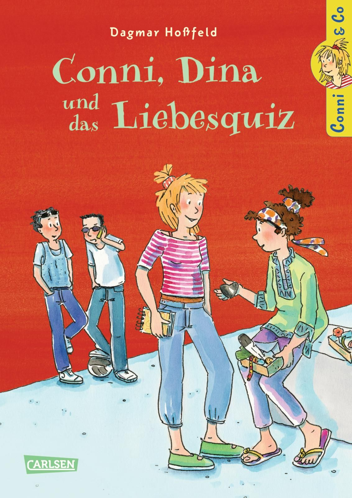 NEU-Conni-amp-Co-Conni-Dina-und-das-Liebesquiz-Dagmar-Hossfeld-554109