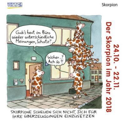 skorpion-mini-2018-sternzeichenkalender-cartoon-minikalender-im-praktischen-quadratischen-format-