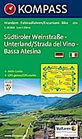 Südtiroler Weinstraße - Unterland / Strada del Vino - Bassa Atesina 1 : 25 000