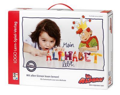 Die Alphas (Kinderspiel) - Logo - Spiel, Deutsch, Claude Huguenin,Oliver Dubois, Mein Alphabet lebt. Mit allen Sinnen lesen lernen! Die fantastische Lese-Lern-Methode, Mein Alphabet lebt. Mit allen Sinnen lesen lernen! Die fantastische Lese-Lern-Methode