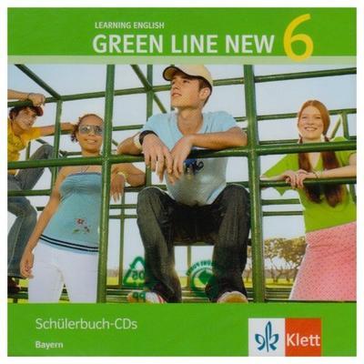 Green Line NEW Bayern: Begleit-CDs zum Schülerbuch Band 6: 10. Schuljahr (Green Line NEW. Ausgabe für Bayern) - Klett - Audio CD, Englisch, , ,
