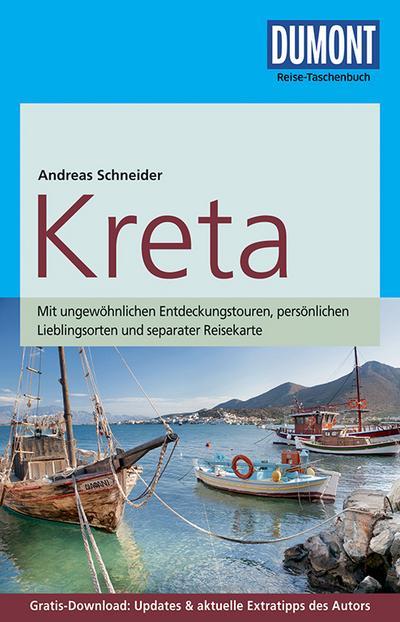 DuMont Reise-Taschenbuch Reiseführer Kreta: mit Online-Updates als Gratis-Download