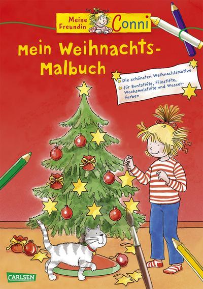 Conni Gelbe Reihe: Mein Weihnachts-Malbuch