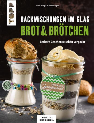 Backmischungen im Glas Brot & Brötchen