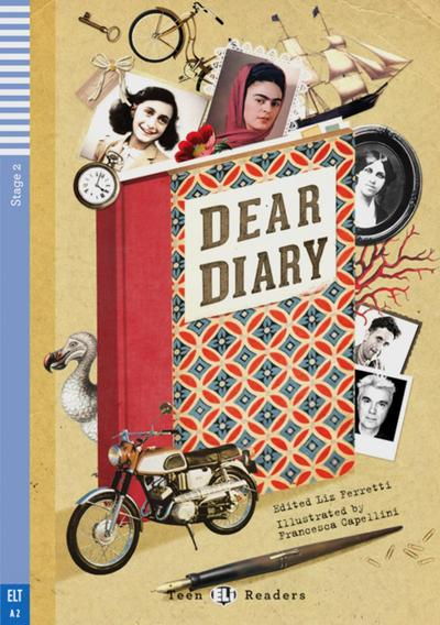 dear-diary-a-collection-of-the-world-s-best-diaries-englische-lekture-mit-audio-cd-fur-das-2-