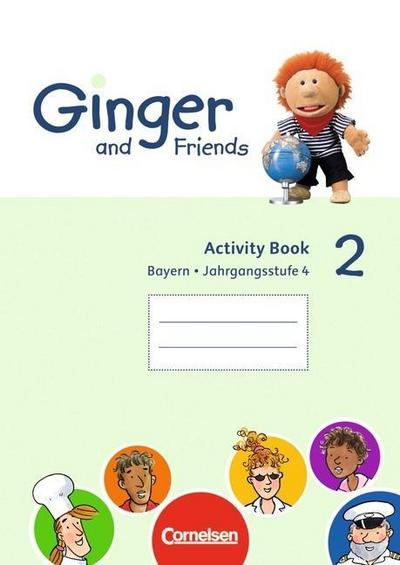ginger-and-friends-bayern-band-2-4-jahrgangsstufe-activity-book