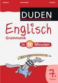 Duden - Englisch in 15 Minuten - Grammatik 7. Klasse