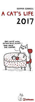 A Cat's Life 2017 - Streifenkalender