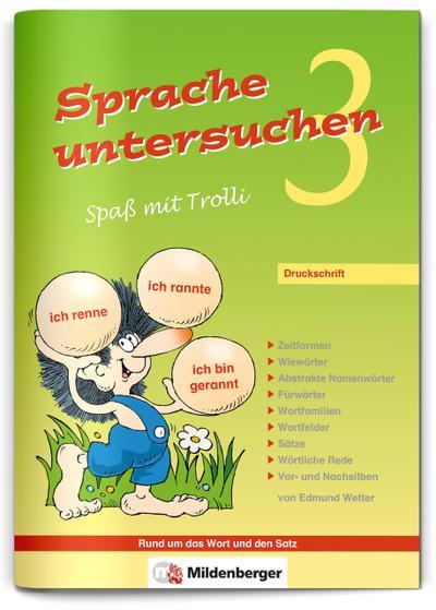 sprache-untersuchen-spa-mit-trolli-3-druckschrift-arbeitsheft, 3.84 EUR @ regalfrei-de