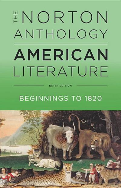 The Norton Anthology of American Literature. Vol.A