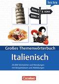 Lextra - Italienisch - Themenwörterbuch - Illustrierter Alltagswortschatz: A1-B2 - Italienisch-Deutsch