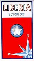 Liberia 1: 1 000 000: Landkarte