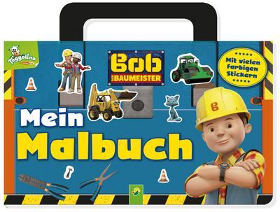 Bob der Baumeister Mein Malbuch mit Stickern