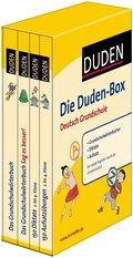 Die Duden-Box Deutsch Grundschule: Grundschulwörterbücher - Diktate - Aufsatz