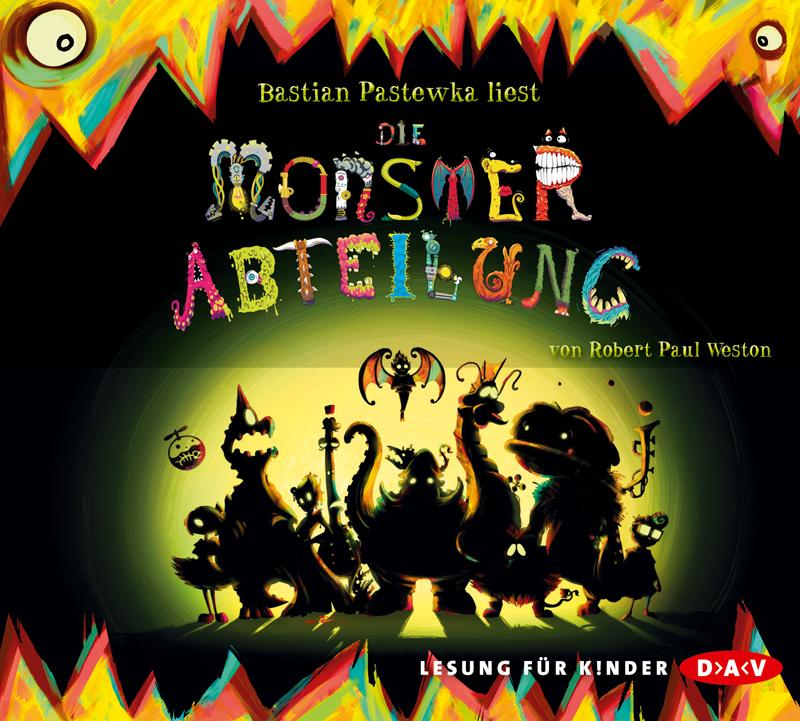 Die Monsterabteilung Robert Paul Weston 9783862314140