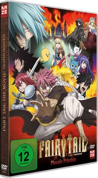 Fairy Tail: Phoenix Priestess (Movie 1) - Kaze Anime (AV Visionen) - DVD, Deutsch| Japanisch, Shinji Ishihira, Deutsch, Deutsch