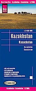 Reise Know-How Landkarte Kasachstan (1:2.000. ...