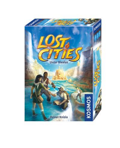 Kosmos Spiele 690335 Lost Cities - Unter Rivalen - KOSMOS - Spielzeug, Deutsch, Reiner Knizia, ,