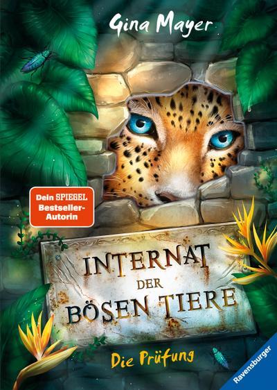 Internat der bösen Tiere, Band 1: Die Prüfung  HC - Internat der bösen Tiere  Ill. v. Vath, Clara  Deutsch  schw.-w. Ill.