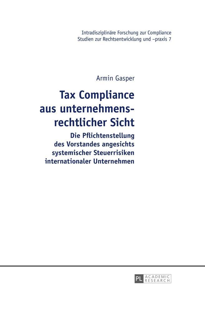 Tax-Compliance-aus-unternehmensrechtlicher-Sicht-Armin-Gasper