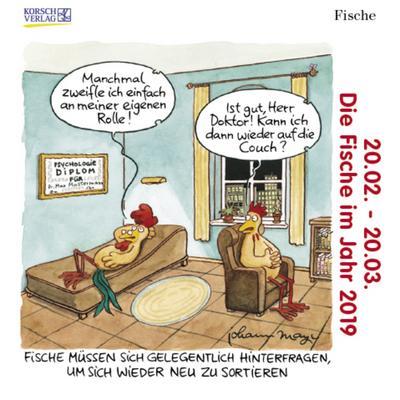 fische-mini-248619-2019-sternzeichenkalender-cartoon-minikalender-im-praktischen-quadratischen-fo