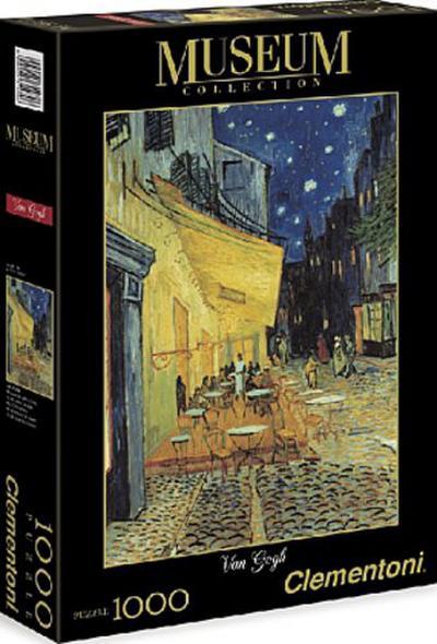 Clementoni 31470.6 -  Van Gogh - Cafèterrasse bei Nacht 1000 teilig - Clementoni - Spielzeug, Deutsch, Vincent van Gogh, ,