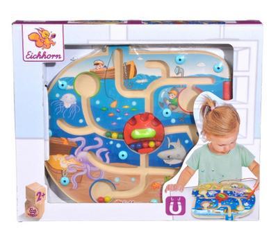 Eichhorn 100003628 - Puzzle mit Magnetfunktion, 25x22,6cm, Motorikspiel - Simba - Spielzeug, Deutsch, , ,