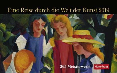 Eine Reise durch die Welt der Kunst - Kalender 2019: 365 Meisterwerke - Athesia Kalenderverlag Gmbh - Kalender, Deutsch, , 365 Meisterwerke, 365 Meisterwerke