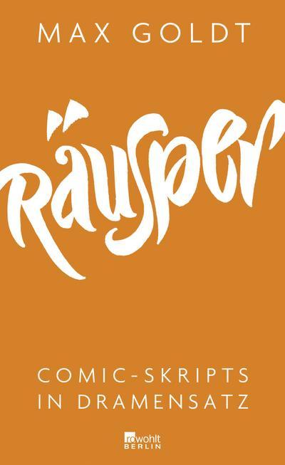 Räusper: Comic-Skripts in Dramensatz