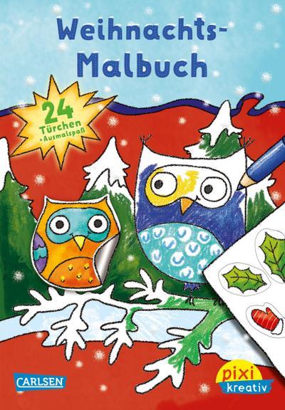 pixi-kreativ-91-weihnachts-malbuch-mit-24-stickern, 3.84 EUR @ regalfrei-de