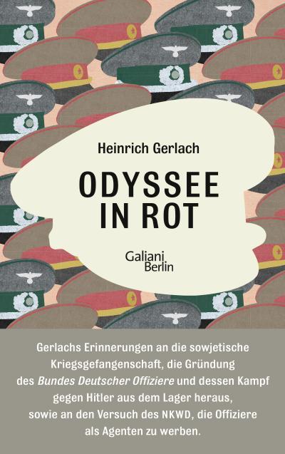Odyssee in Rot: Bericht einer Irrfahrt. Herausgegeben und mit einem dokumentarischen Nachwort versehen von Carsten Gansel