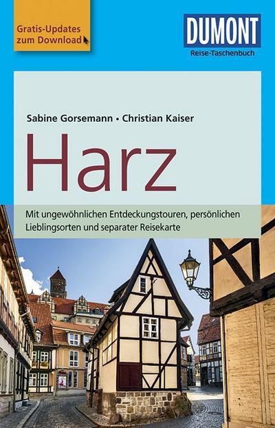 DuMont Reise-Taschenbuch Reiseführer Harz: mit Online Updates als Gratis-Download